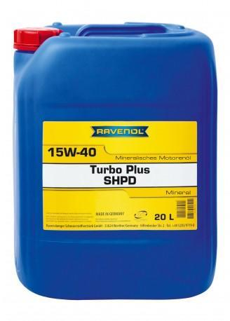 RAVENOL Turbo-Plus SHPD 15W-40 - 20L 0