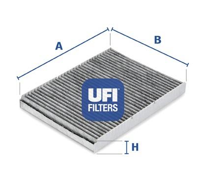 FILTRU HABITACLU UFI 54.109.00 0