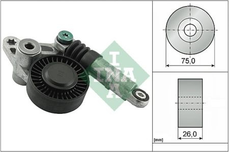 Amortizor vibratii - intinzator curea accesorii INA 534009810 [0]