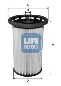 Filtru combustibil UFI 26.038.00 [0]