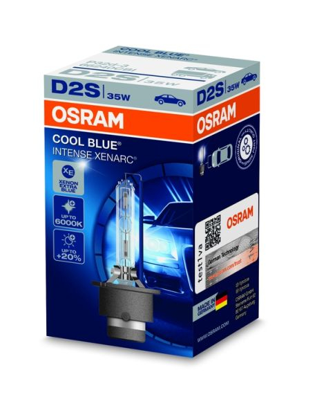 BEC XENON OSRAM D2S 35W P32D-2 Cool Blue Intense (5000K) 0