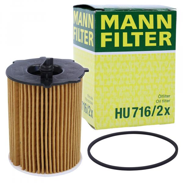 FILTRU ULEI MANN HU716/2X 0