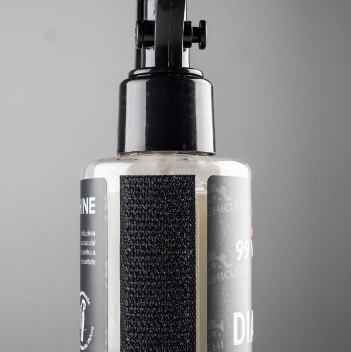 99Vehicles Diamond Shine - Soluție profesională pentru întreținerea anvelopelor - 180ml [4]