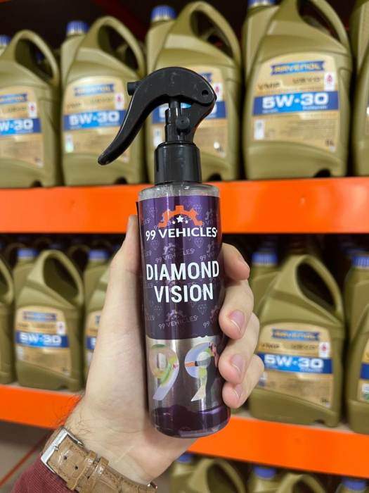 99Vehicles Diamond Vision 180ml - Soluție Profesională pentru Degresare [2]