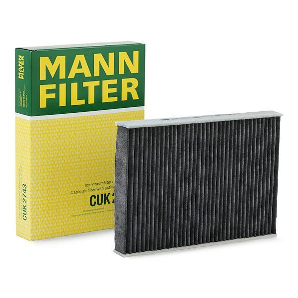 FILTRU HABITACLU MANN CUK2743 0