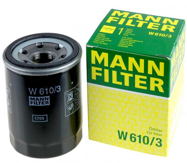 FILTRU ULEI MANN W610/3 0