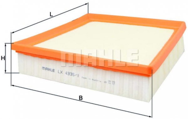 FILTRU AER MAHLE LX4335 0