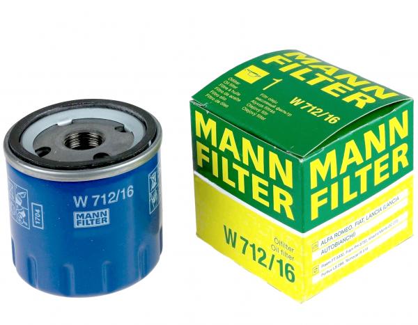 FILTRU ULEI MANN W712/16 0