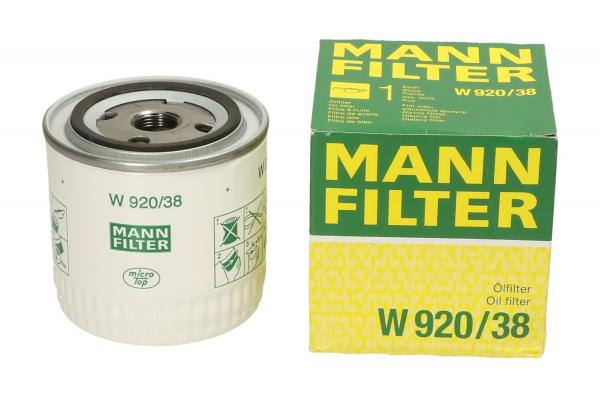 FILTRU ULEI MANN W920/38 0
