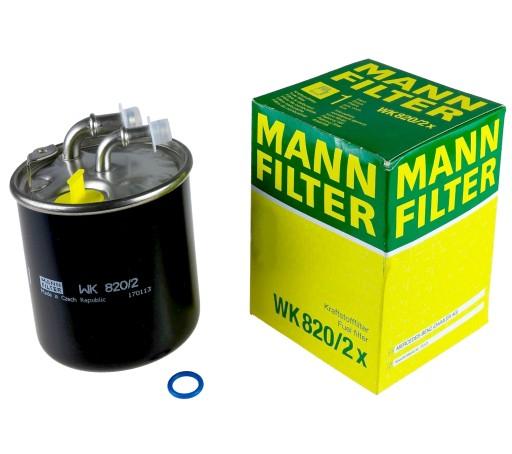 FILTRU COMBUSTIBIL MANN WK820/2X 0