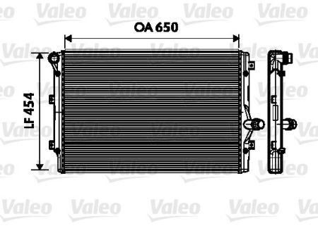 Radiator racire motor V734333 0