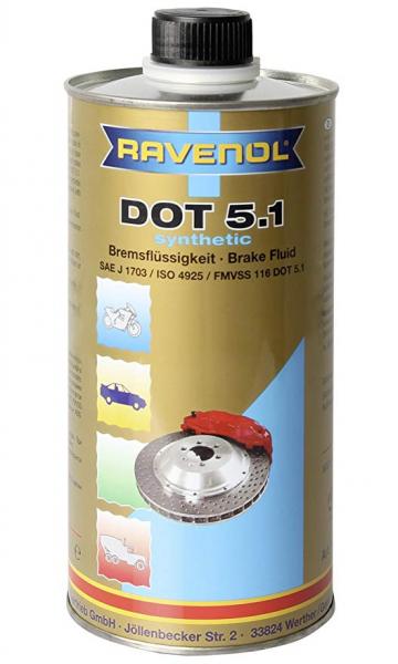 Lichid de frana Ravenol DOT5.1 - 1L 0