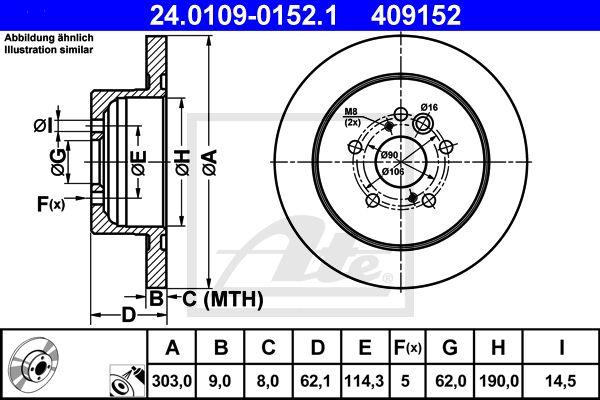 DISC FRANA SPATE ATE 24.0109-0152.1 [0]