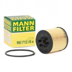 FILTRU ULEI MANN HU712/6X 0