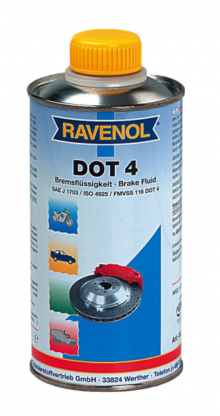 Lichid de frana Ravenol DOT4 - 1L 0