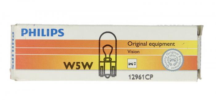BEC W5W PHILIPS PHI12961/1 0