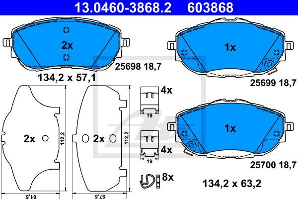 SET PLACUTE FRANA FATA ATE 13.0460-3868.2 [0]
