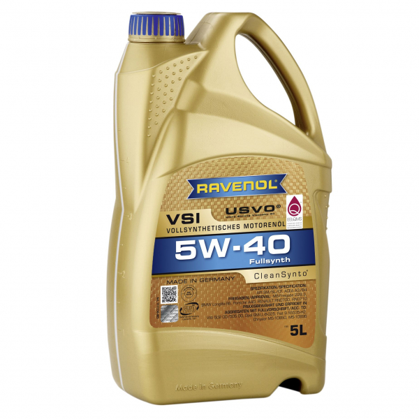 RAVENOL 5W40 VSI USVO - 5L 0