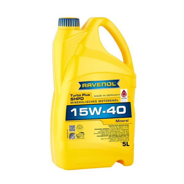 RAVENOL Turbo-Plus SHPD 15W-40 - 5L 0