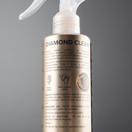 99Vehicles Diamond Clean - Soluție profesională pentru întreținerea suprafețelor din plastic și din piele3