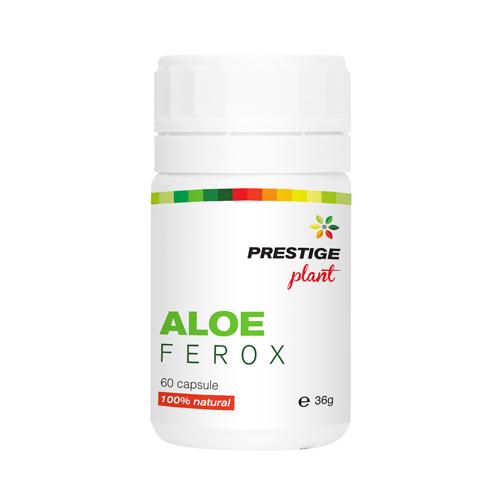 Aloe Ferox 60 cps (slăbire, antioxidanți, detoxifiere) Prestige Plant 0