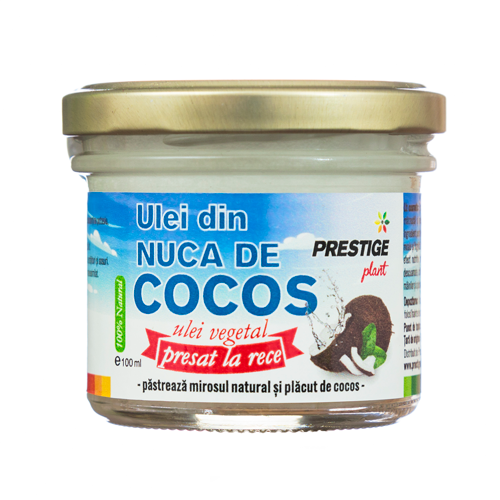 Ulei de Cocos virgin presat la rece - 100 ml Prestige Plant [0]