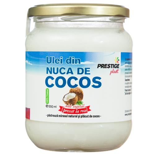 Ulei de Cocos virgin presat la rece - 550 ml Prestige Plant 0