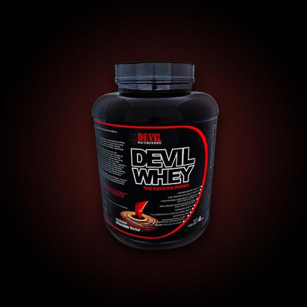 Devil Whey  CIOCOLATA VANILIE CAPSUNI 0