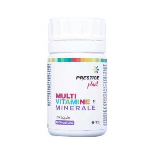 Multi VItamine si Minerale 60 cps Prestige Plant 0