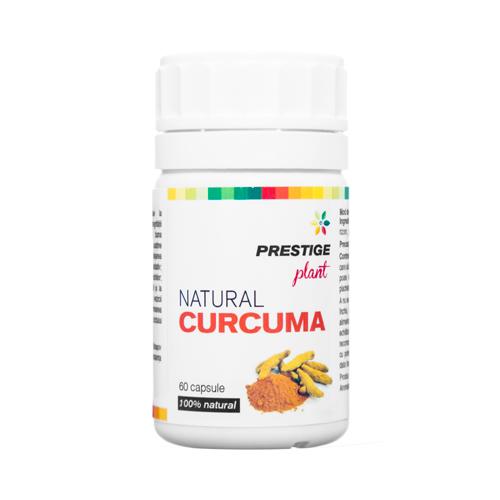 Natural curcuma 60 cps. Prestige Plant 0