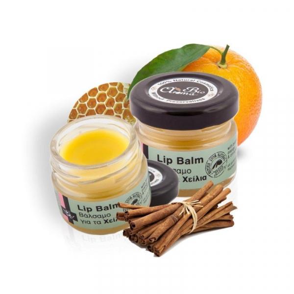 Balsam de buze cu portocale si scortisoara 100% natural 25 ml 0