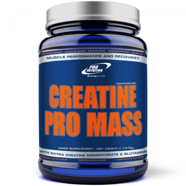 Creatine Pro Mass Whey Line Pro Nutrition 1470g ciocolata 0