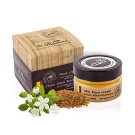 Crema de fata 24h anti-aging cu ceara albine, neroli, labdanum, mirt 40 ml 0