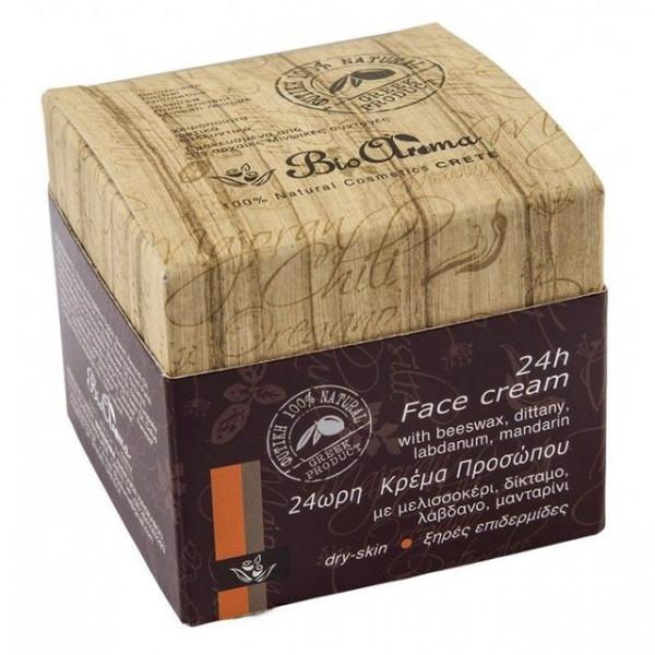 Crema fata 24h, ten uscat, sensibil, ceara albine, dictam, trandafir de stanca, mandarin 40 ml 0