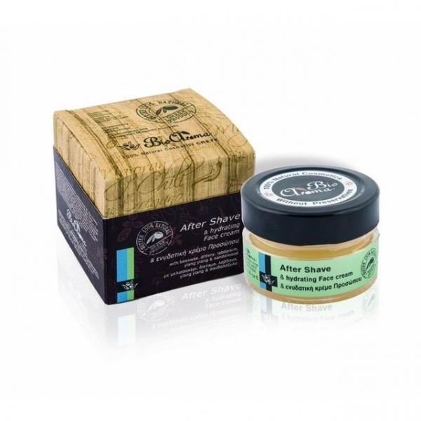 Crema hidratanta dupa barbierit cu Ylang Ylang, Trandafir, lemn de Santal 40 ml 0