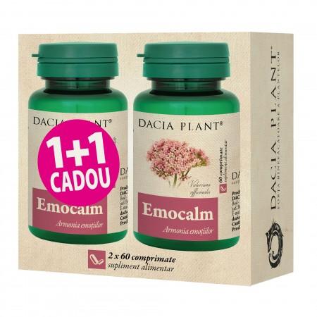 """Emocalm comprimate """"1+1 CADOU"""" 0"""
