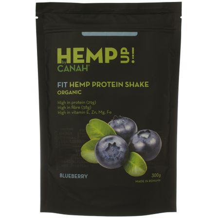 Fit shake proteic de canepa eco si afine Hemp UP Ecolgic 300 g Canah 0