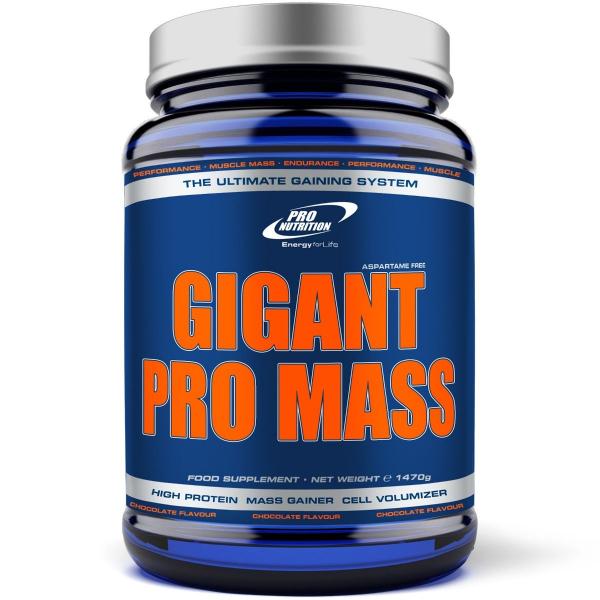 GIGANT Pro Mass Whey Line 1470g Pro Nutrition aroma ciocolata 0