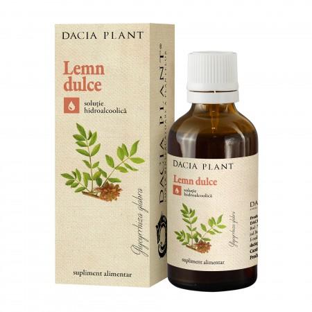 Lemn Dulce - tinctura 50 ml - Dacia Plant 0