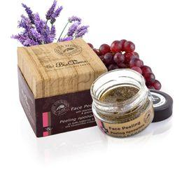 Masca exfolianta de față cu flori de lavandă, ulei de semințe de struguri si ylang-ylang. 0