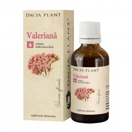 Valeriana tinctura 50 ml Dacia Plant 0