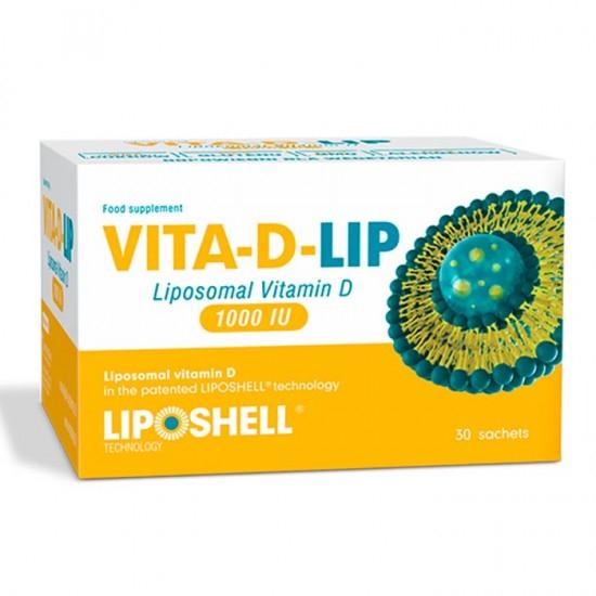 Vitamina D Lipozomala VITA-D-LIP 1000 IU 30 plicuri 0