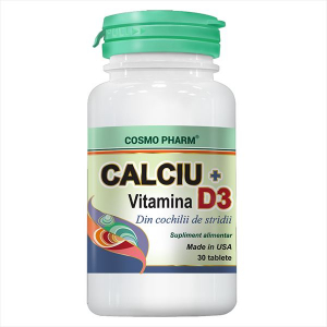CALCIU + VITAMINA D3