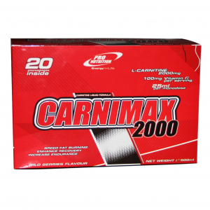 Carnimax 2000 ProNutrition 20 fiole