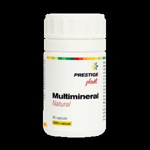 Multimineral natural 60 cps Prestige Plant