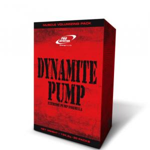 Dynamite Pump pronutrition