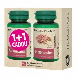 """Emocalm comprimate """"1+1 CADOU"""""""