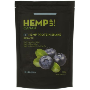 Fit shake proteic de canepa eco si afine Hemp UP Ecolgic 300 g Canah