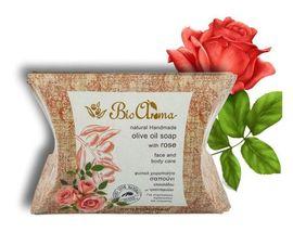 Sapun de fata cu ulei de masline si trandafir 90 gr