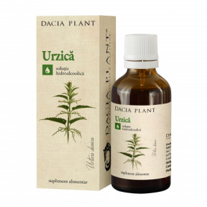 Urzica tinctura- 50 ml- Dacia Plant
